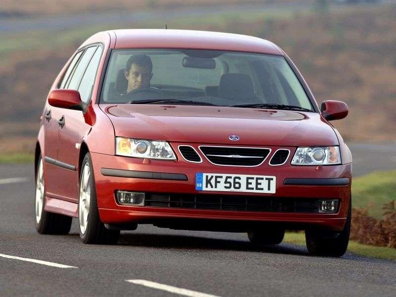 Saab 09.mar 2. generacja Estate 2.8 AT (2005 2007)