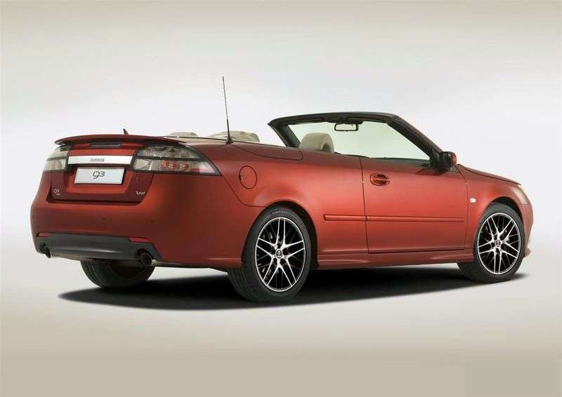 Saab 09.Mar 2 generation [restyling] Convertible 2.8 turbo AT convertible (2008–2010)