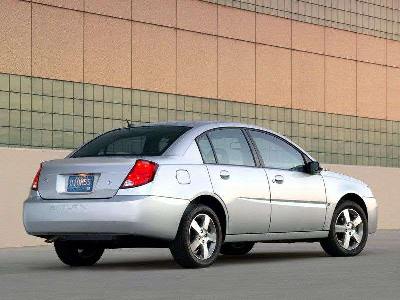 Saturn ION 1st generation sedan 2.4 AT (2003–2007)
