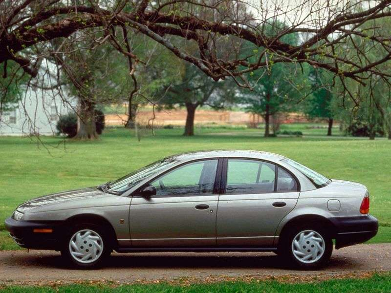 Saturn S Series 2nd generation SL Sedan 1.9 MT (1995–2003)