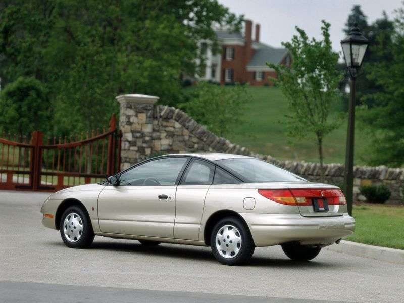 Saturn S Series 2nd generation SC Coupe 1.9 MT (1999–2003)