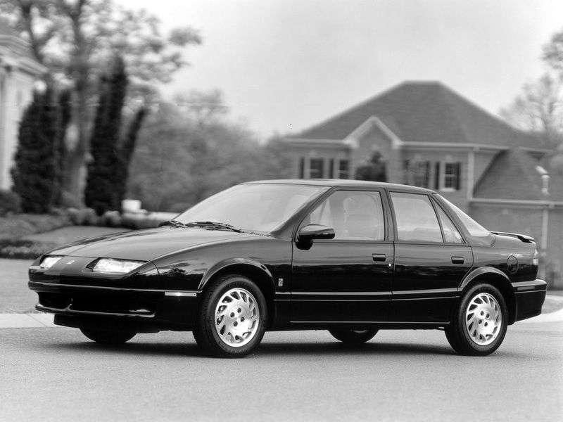 Saturn S Series 1st generation SL sedan 1.9 MT (1990–1995)