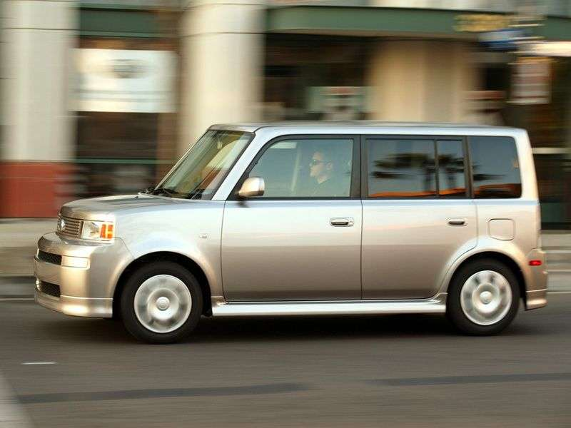Scion xB 1st generation minivan 1.5 AT (2003–2008)