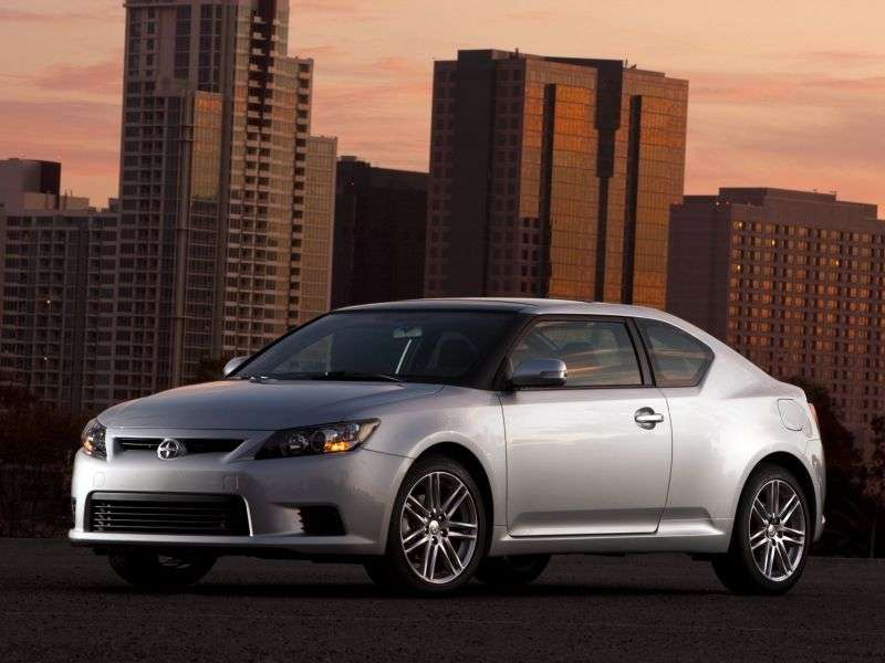 Scion tC 2nd generation coupe 2.5 MT (2010 – n. In.)