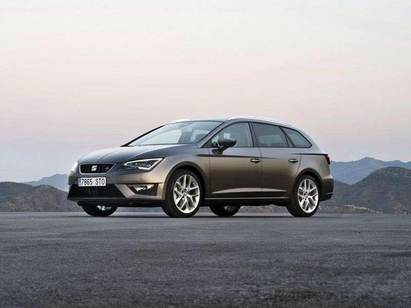 SEAT Leon 3 generation ST FR wagon 5 dv. 1.4 TSI MT (2013 – present)