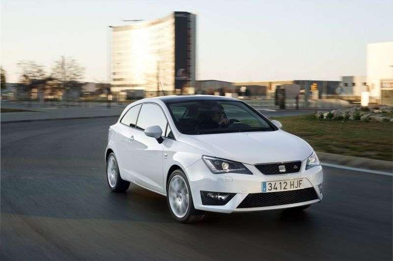 SEAT Ibiza 4th generation [restyling] FR hatchback 5 dv. 1.4 TSI DSG FR (2012 – current century)