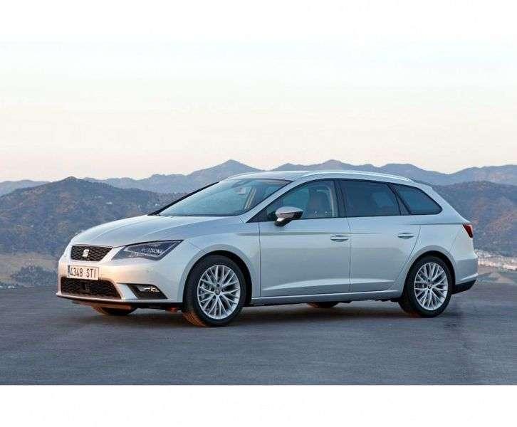 SEAT Leon 3 generation ST wagon 5 bit. 1.4 TSI MT (2013 – present)