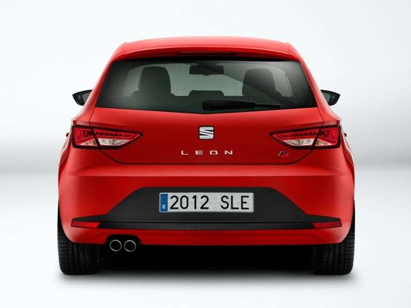 SEAT Leon 3 generation FR hatchback 5 dv. 2.0 TDI CR MT (2012 – current century)