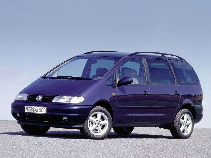 SEAT Alhambra 1st generation 2.0 MT minivan (1996–2000)