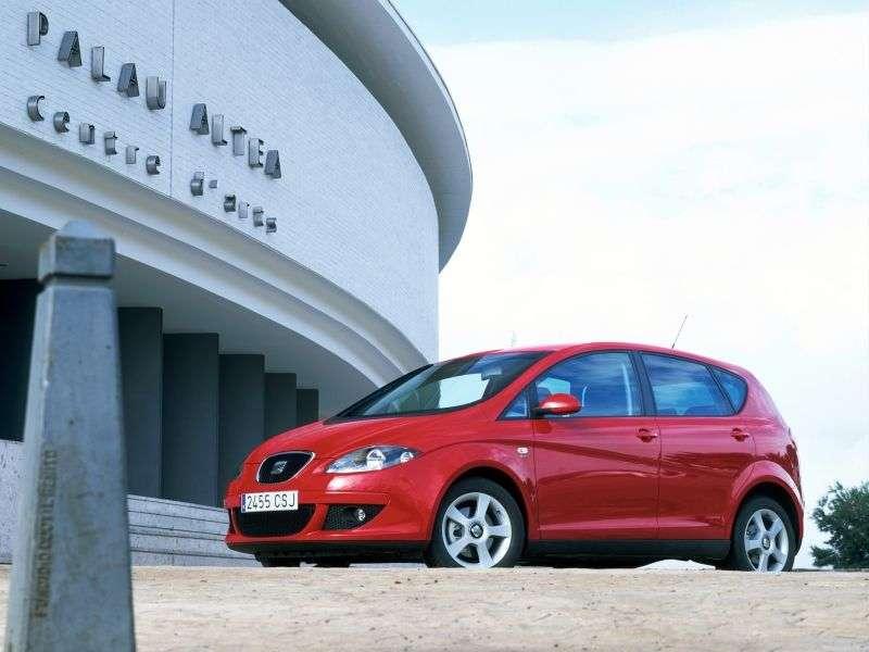 SEAT Altea 1st generation minivan 2.0 FSI MT (2004–2009)