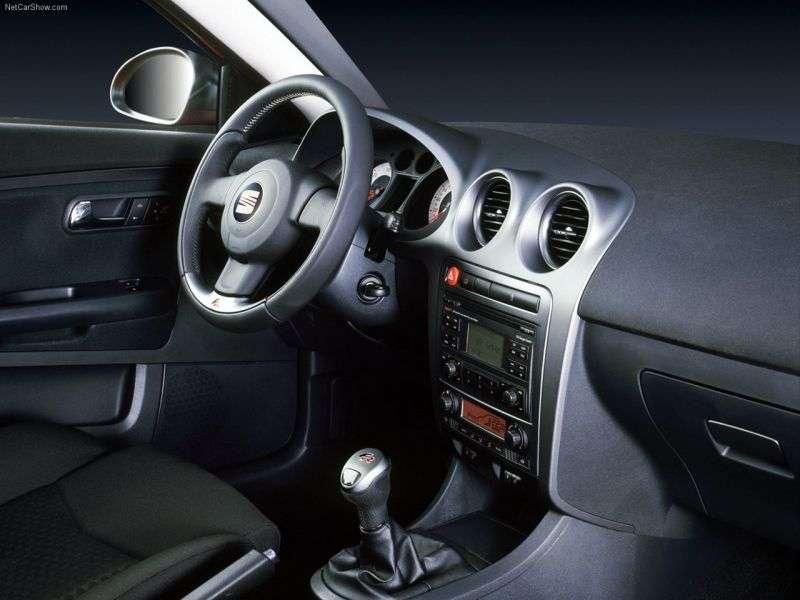 SEAT Ibiza 3rd generation [restyling] 3 bit hatchback 1.8 T MT (2006–2008)