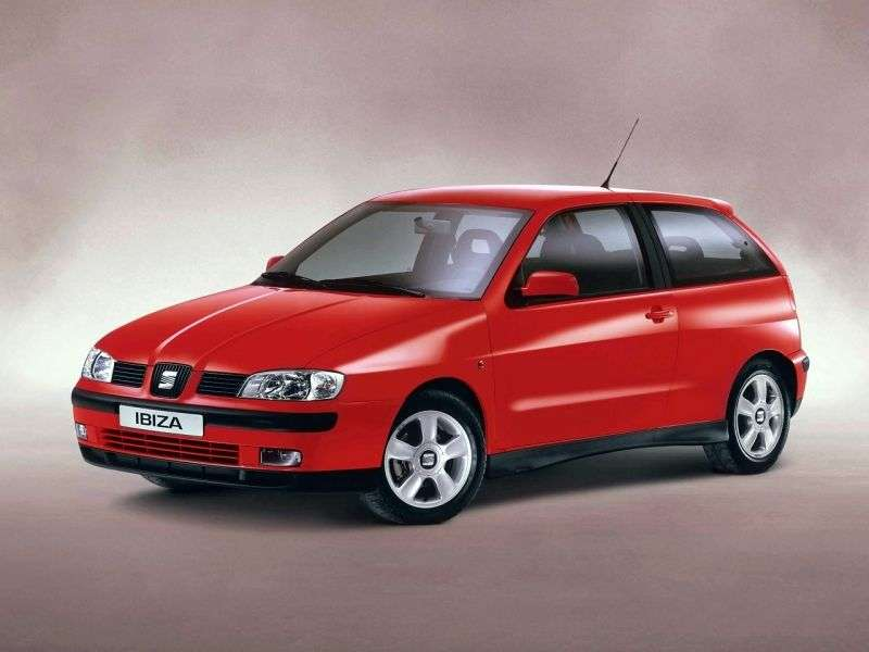 SEAT Ibiza 2nd generation [restyling] hatchback 1.9 D MT (1996–1999)