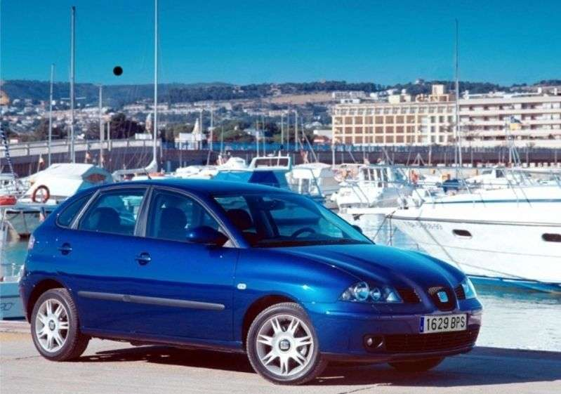 SEAT Ibiza 3rd generation hatchback 5 dv. 1.4 MT (2002–2006)