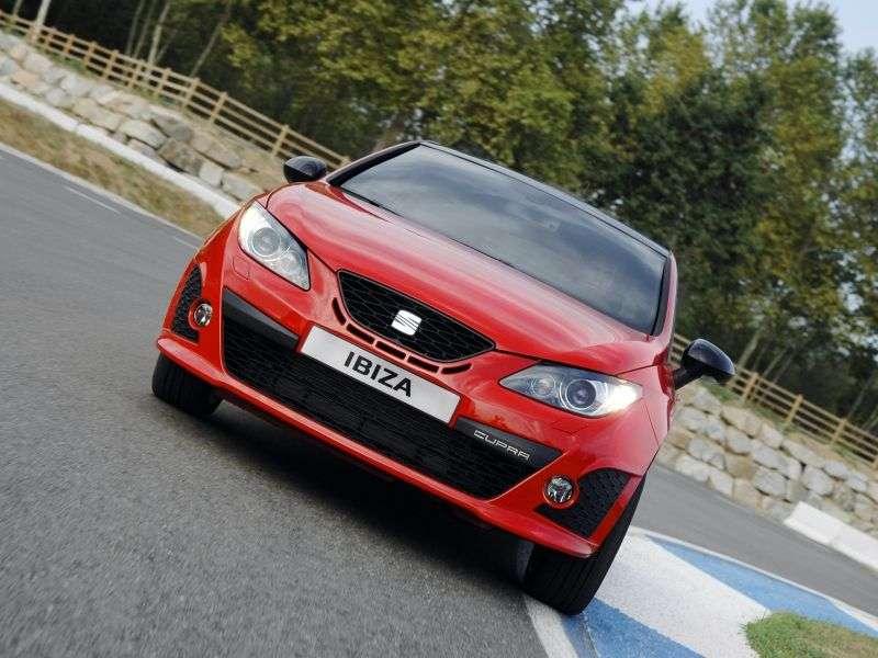 SEAT Ibiza 4th generation SC Cupra hatchback 3 dv. 1.4 TSI DSG Cupra (2010–2011)