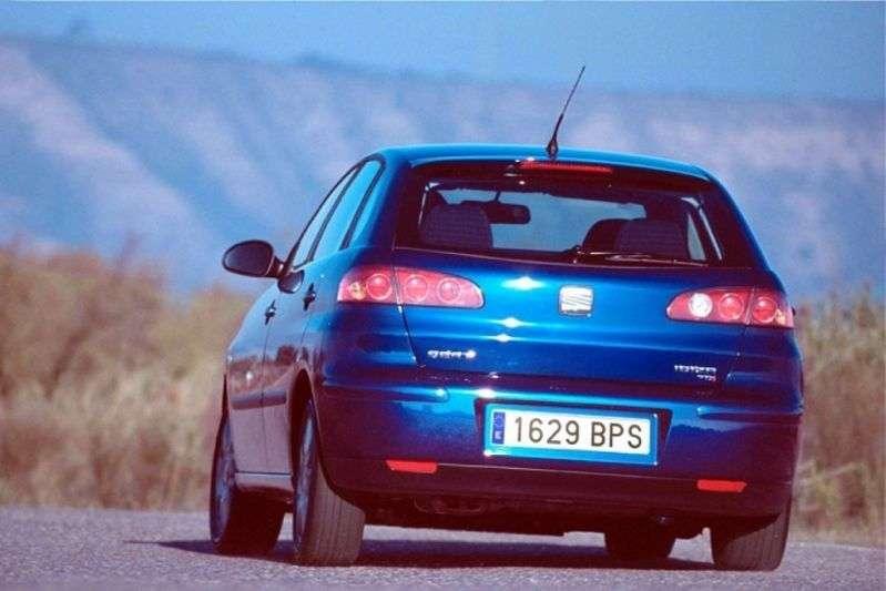SEAT Ibiza 3rd generation hatchback 5 dv. 1.9 TDI MT (2002–2006)