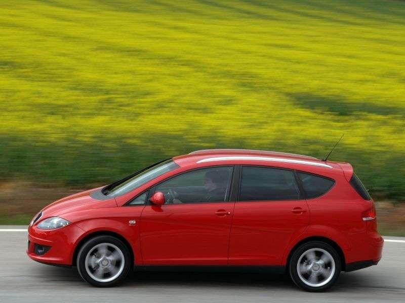 SEAT Altea 1st generation XL minivan 5 dv. 1.6 MT (2006–2009)