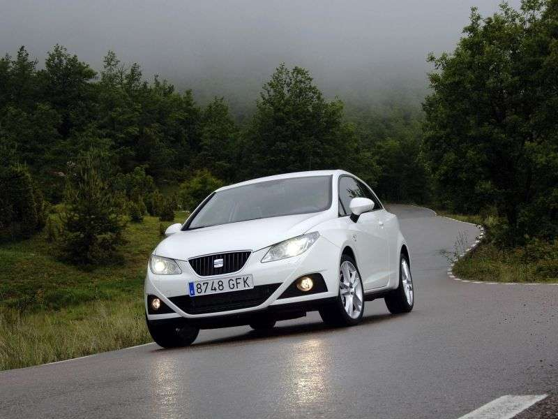 SEAT Ibiza 4th generation SC hatchback 3 dv. 1.6 MPI DSG Reference (2008–2011)