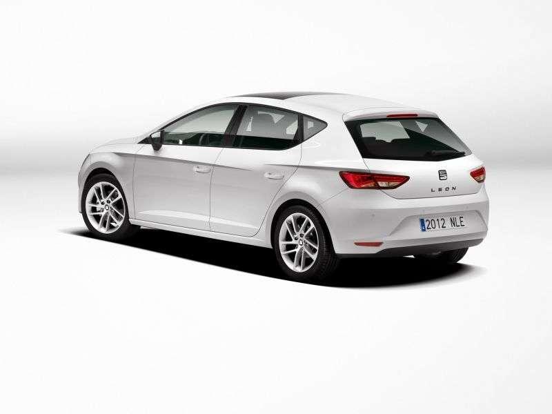 SEAT Leon 3 generation hatchback 5 dv. 1.4 TSI MG Style (2012 – present)