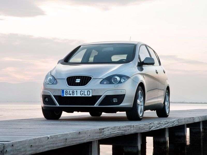 SEAT Altea 1st generation [restyled] 5 door minivan 1.2 TSI MT Reference (2009 – present)