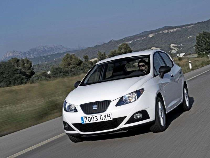 SEAT Ibiza 4th generation hatchback 5 dv. 1.6 MPI DSG Style (2011–2012)