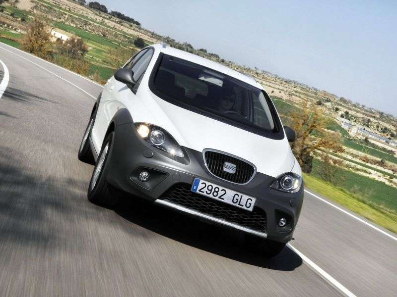 SEAT Altea 1st generation [restyled] Freetrack Crossover 2.0 TSI DSG 4WD Style (2009 – n.)