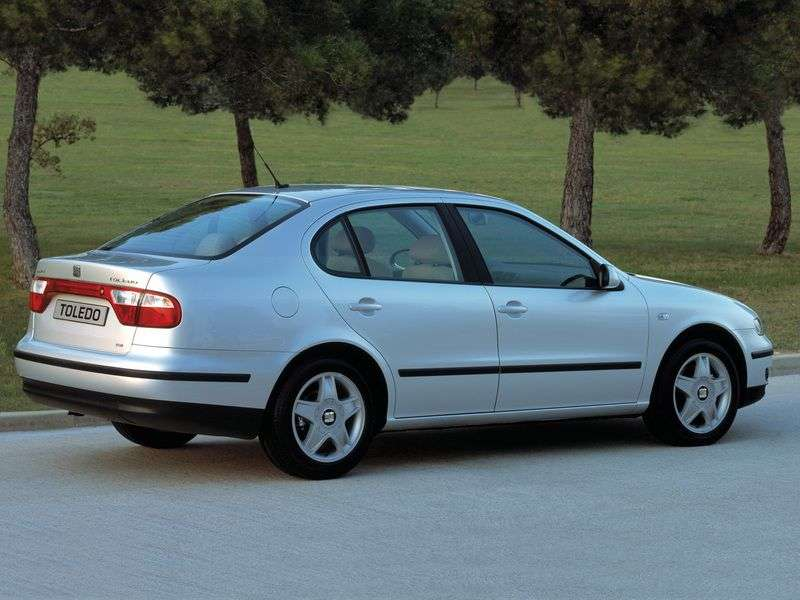 SEAT Toledo 2nd generation sedan 1.9 TD MT (2002–2006)