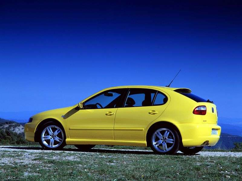 SEAT Leon 1 generation hatchback 1.8 MT (1999–2005)