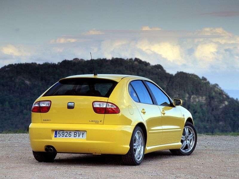SEAT Leon 1st generation hatchback 1.8 T MT Cupra R (2001–2005)