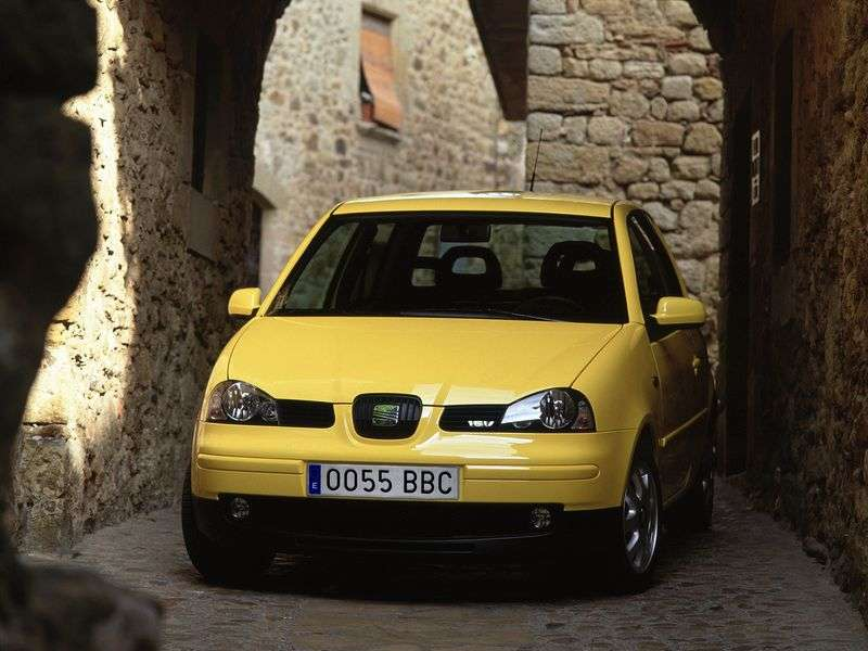 SEAT Arosa 6Hetchback 1.4 MT (1997 – current century)