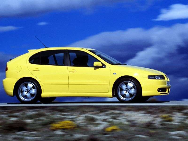SEAT Leon 1st generation 1.4 MT hatchback (1999–2005)