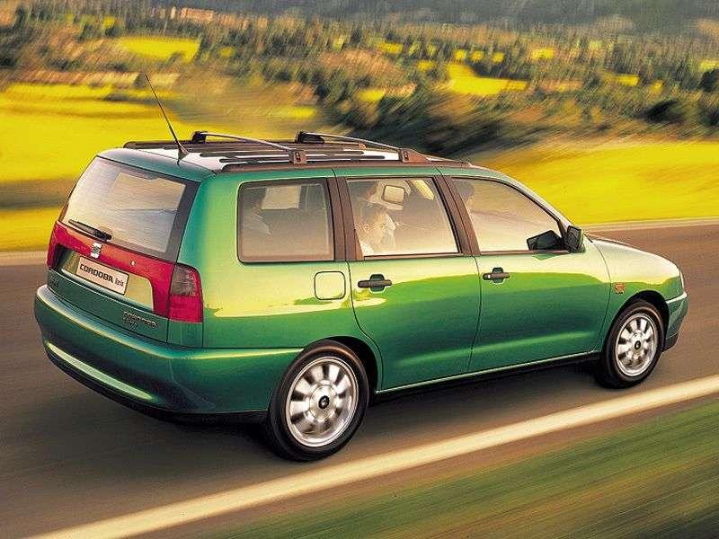 SEAT Cordoba 2nd generation wagon 1.9 TD MT (1999–2000)