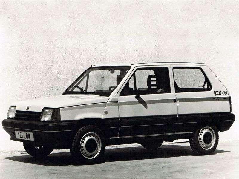 SEAT Marbella 1st generation hatchback 0.8 MT (1986–1993)