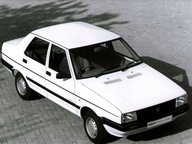 SEAT Malaga 1st generation 1.7 D MT sedan (1986–1993)