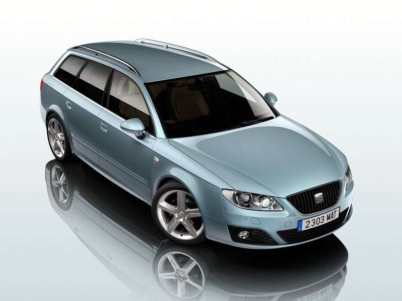 SEAT Exeo 1st generation wagon 2.0 TSI MT (2009–2012)