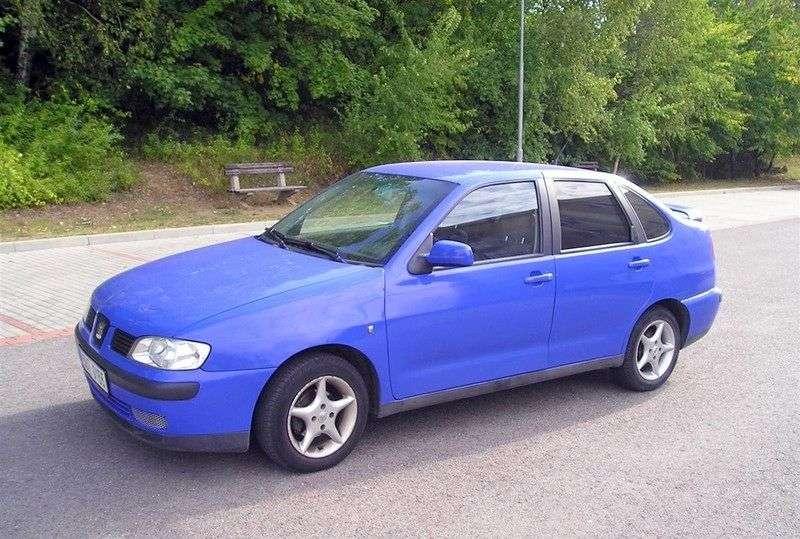 SEAT Cordoba sedan 2.generacji 1.9 D MT (1999 2000)