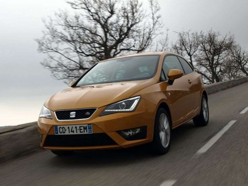 SEAT Ibiza 4th generation [restyling] SC FR hatchback 3 bit. 1.4 TSI DSG FR (2012 – current century)