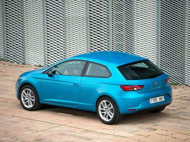 SEAT Leon 3 generacji SC hatchback 3 drzwiowy 1,6 TDI MT (2013 do chwili obecnej)