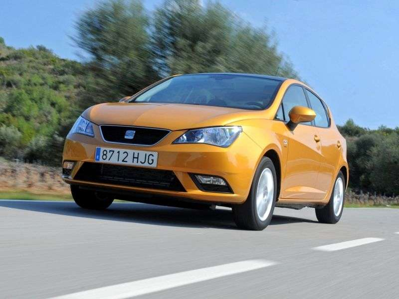 SEAT Ibiza 4 generation [restyling] hatchback 5 dv. 1.6 MT Style (2012 – n. In.)