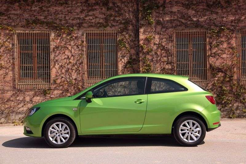 SEAT Ibiza 4th generation [restyling] SC hatchback 3 dv. 1.4 MT Reference (2012 – n. In.)