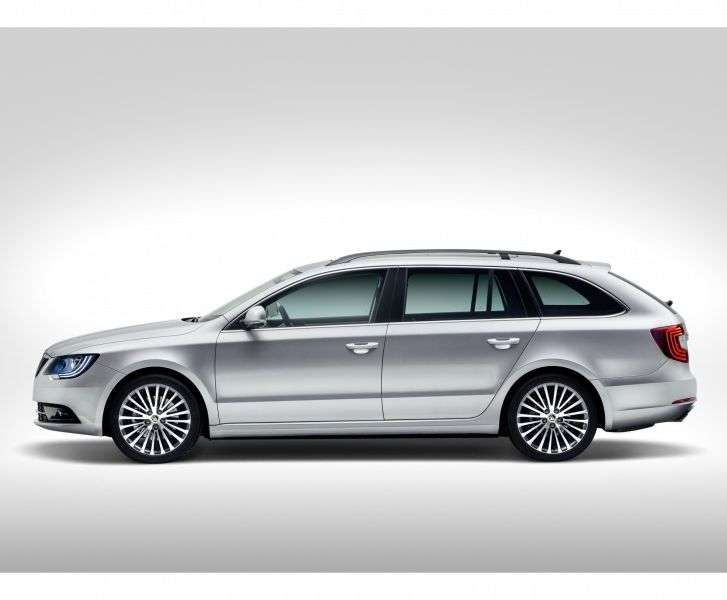Skoda Superb 2nd generation [restyling] wagon 1.8 TSI DSG Elegance (2013 – v.)