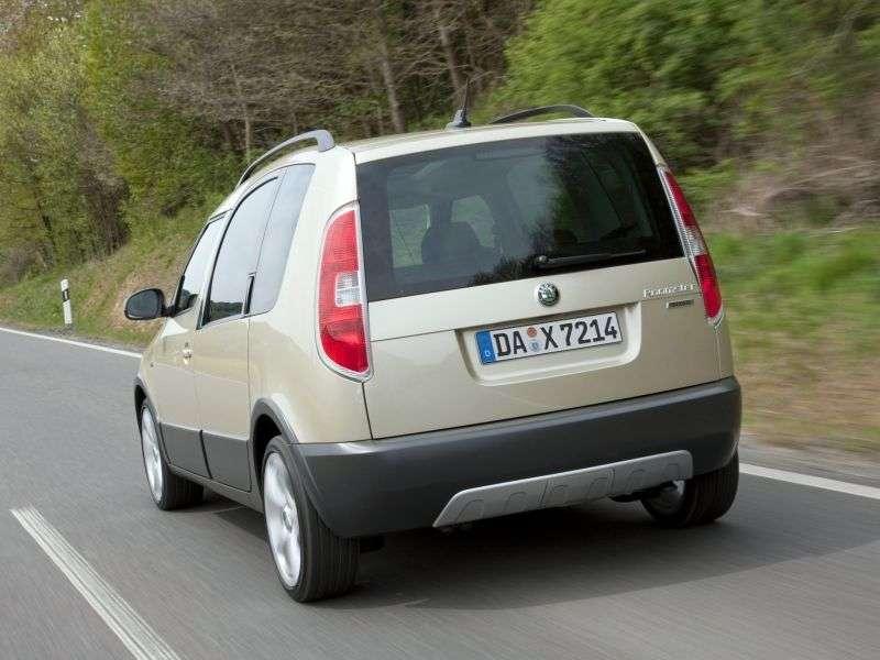 Skoda Roomster 1st generation [restyling] Scout 5 speed minivan 1.2 TSI MT Scout (2010 – n.)