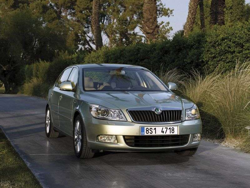 Skoda Octavia 2nd generation [restyling] liftback 5 bit 1.4 TSI DSG Ambition (CKD) (2008–2013)
