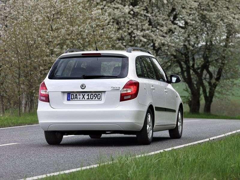 Skoda Fabia 5J Universal 1.6 AT (2007–2010)