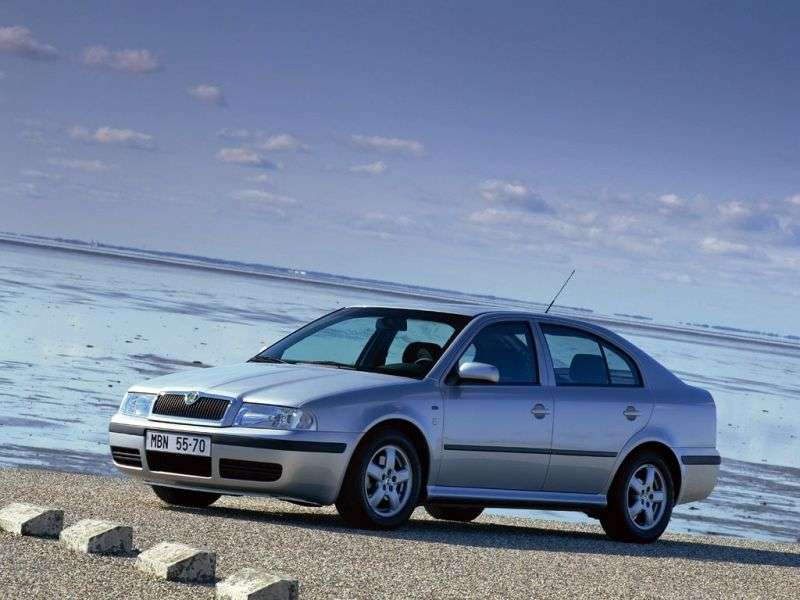 Skoda Octavia 1st generation [restyling] liftback 1.9 TDI AT (2000–2004)