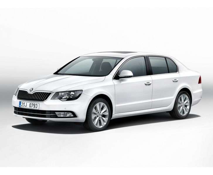 Skoda Superb 2nd generation [restyling] liftback 3.6 FSI DSG 4x4 L & K (2013 – v.)