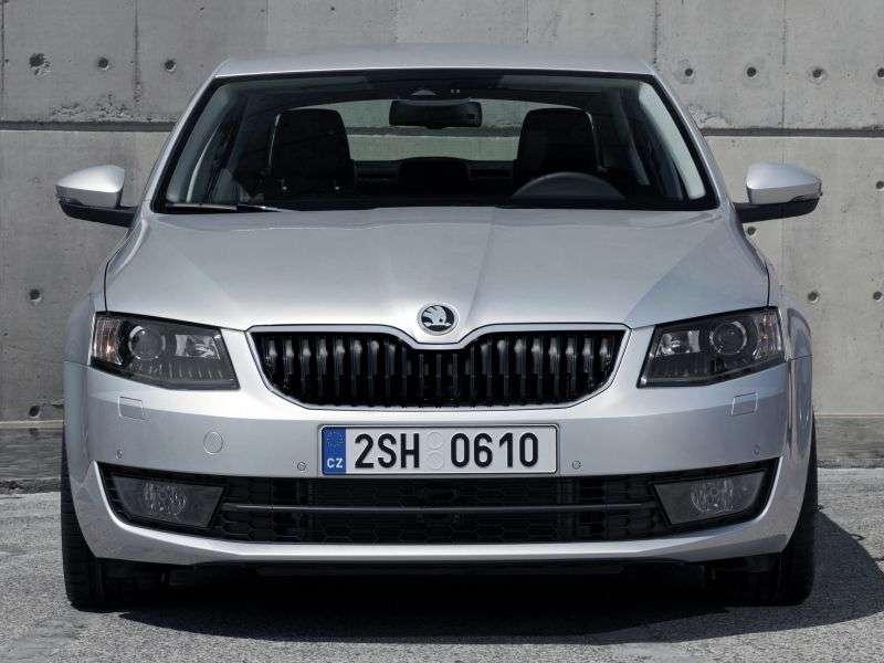 Skoda Octavia 3rd generation liftback 5 bit. 1.2 TSI MT Elegance (2013 – present)
