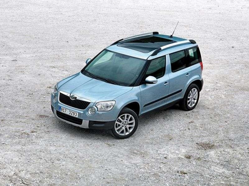 Skoda Yeti 1st generation crossover 1.8 TSI 4x4 MT Ambition (FBU) (2009 – n.)