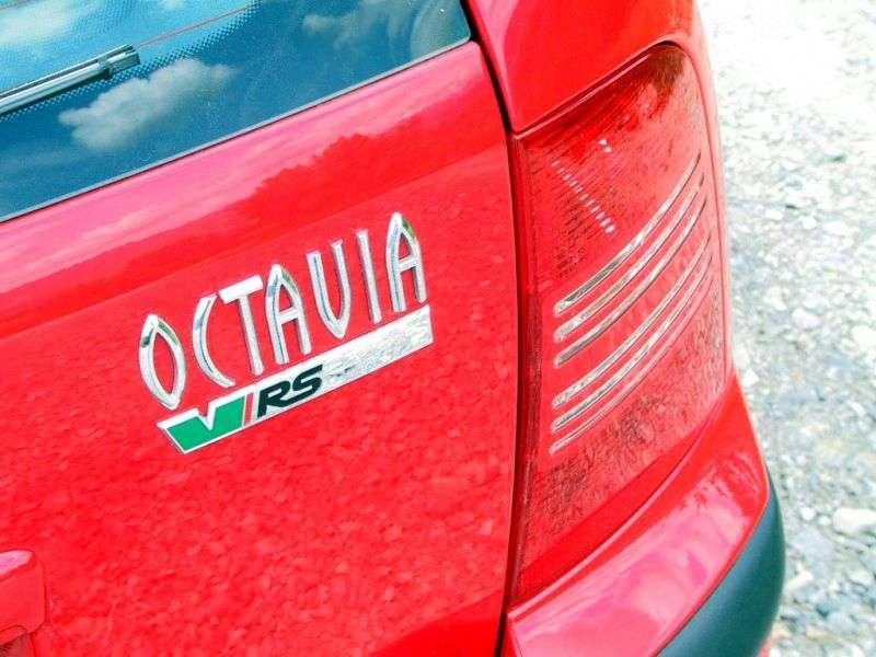Skoda Octavia 1st generation [restyling] RS wagon 5 dv. 1.8 T MT (2005–2010)