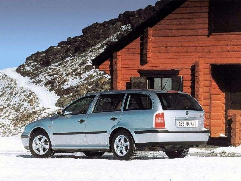 Skoda Octavia 1st generation wagon 5 bit. 1.8 T MT (1998–2000)