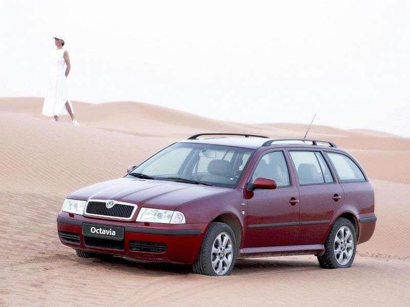 Skoda Octavia 1st generation [restyling] wagon 5 bit 1.9 TDI MT (2003–2004)
